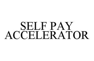 mark for SELF PAY ACCELERATOR, trademark #78445910