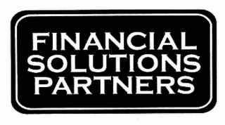 mark for FINANCIAL SOLUTIONS PARTNERS, trademark #78446180