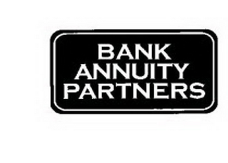 mark for BANK ANNUITY PARTNERS, trademark #78447403