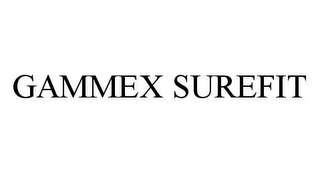 mark for GAMMEX SUREFIT, trademark #78447470