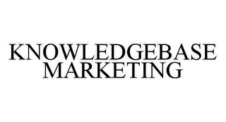 mark for KNOWLEDGEBASE MARKETING, trademark #78447745