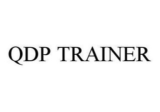 mark for QDP TRAINER, trademark #78448166