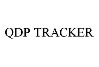 mark for QDP TRACKER, trademark #78448168