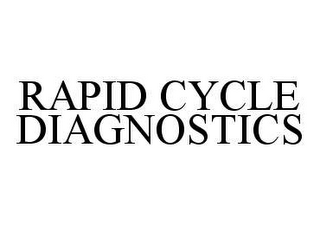 mark for RAPID CYCLE DIAGNOSTICS, trademark #78448341