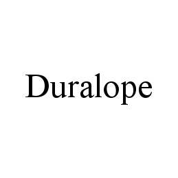 mark for DURALOPE, trademark #78448676