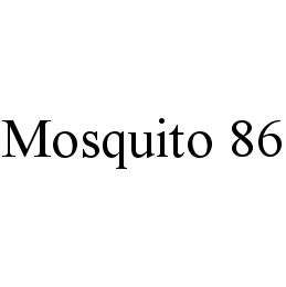 mark for MOSQUITO 86, trademark #78449313