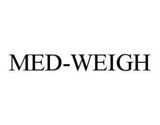 mark for MED-WEIGH, trademark #78450792