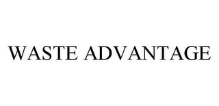 mark for WASTE ADVANTAGE, trademark #78450842