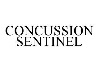 mark for CONCUSSION SENTINEL, trademark #78451189