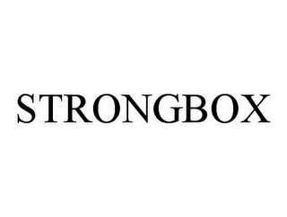 mark for STRONGBOX, trademark #78451824