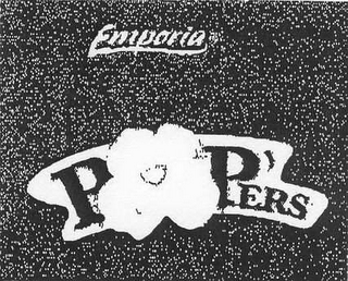 mark for EMPORIA POP'ERS, trademark #78452569