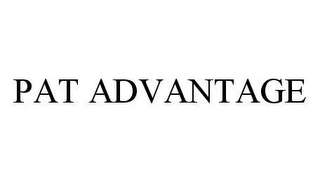 mark for PAT ADVANTAGE, trademark #78452759
