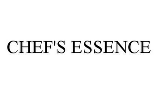 mark for CHEF'S ESSENCE, trademark #78453269