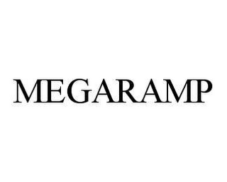 mark for MEGARAMP, trademark #78453573