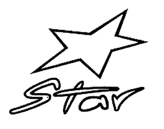 mark for STAR, trademark #78453665