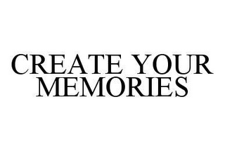 mark for CREATE YOUR MEMORIES, trademark #78454112