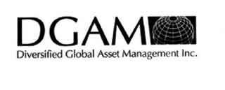 mark for DGAM DIVERSIFIED GLOBAL ASSET MANAGEMENT INC., trademark #78454231