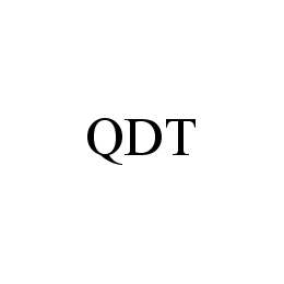mark for QDT, trademark #78454435