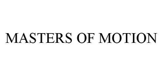 mark for MASTERS OF MOTION, trademark #78455441
