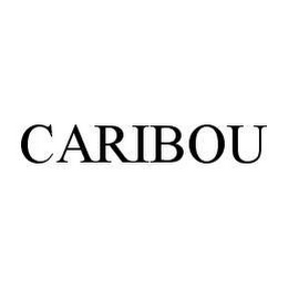 mark for CARIBOU, trademark #78455659