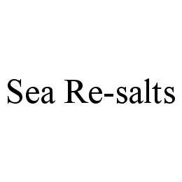 mark for SEA RE-SALTS, trademark #78456221