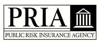 mark for PRIA PUBLIC RISK INSURANCE AGENCY, trademark #78457332