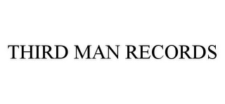mark for THIRD MAN RECORDS, trademark #78457664