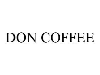 mark for DON COFFEE, trademark #78458131