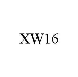 mark for XW16, trademark #78458940