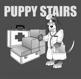 mark for PUPPY STAIRS, trademark #78459453