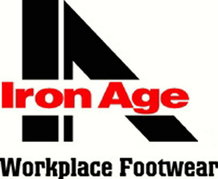 mark for IA IRON AGE WORKPLACE FOOTWEAR, trademark #78460218