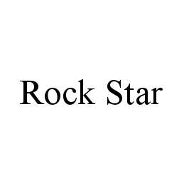 mark for ROCK STAR, trademark #78460258