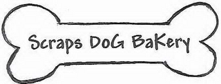 mark for SCRAPS DOG BAKERY, trademark #78460501