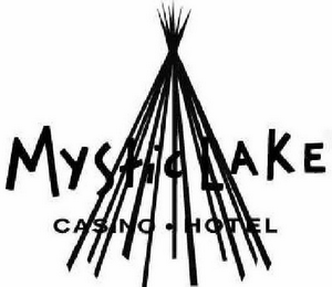 mark for MYSTIC LAKE CASINO . HOTEL, trademark #78461431
