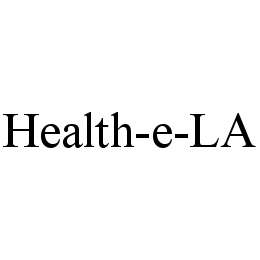 mark for HEALTH-E-LA, trademark #78462147