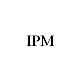 mark for IPM, trademark #78462596