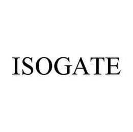 mark for ISOGATE, trademark #78462809