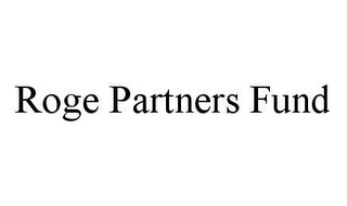 mark for ROGE PARTNERS FUND, trademark #78463523