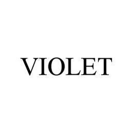 mark for VIOLET, trademark #78463765