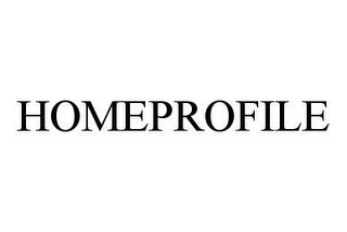 mark for HOMEPROFILE, trademark #78464962