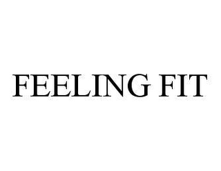 mark for FEELING FIT, trademark #78465702