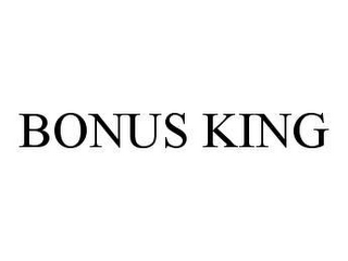 mark for BONUS KING, trademark #78465839