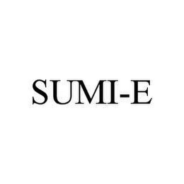mark for SUMI-E, trademark #78465853