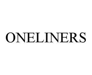 mark for ONELINERS, trademark #78465917