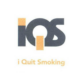 mark for IQS I QUIT SMOKING, trademark #78466095