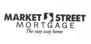 mark for MARKET STREET MORTGAGE THE EASY WAY HOME, trademark #78466251