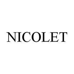 mark for NICOLET, trademark #78466718