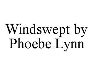 mark for WINDSWEPT BY PHOEBE LYNN, trademark #78466759