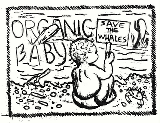 mark for ORGANIC BABY SAVE THE WHALES, trademark #78467064