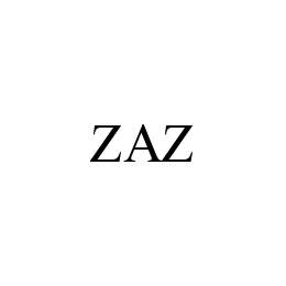 mark for ZAZ, trademark #78467781